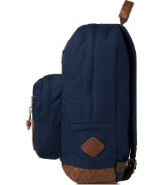 Benny Gold Benny Gold x Jansport Navy Moonshine Right Pack Backpack Model Picutre