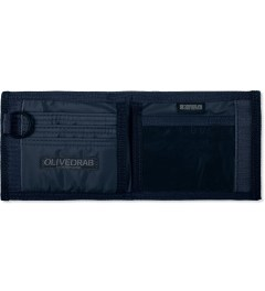 Head Porter Navy Dot Wallet (S) Model Picutre