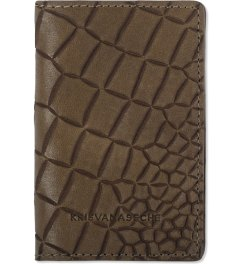 KRISVANASSCHE Brown Credit Card Holder Picutre