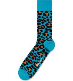 Happy Socks Turquiose Leopard Socks Picutre