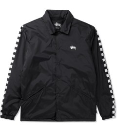 Stussy Black 50/50 Coaches Jacket Picutre