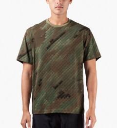 maharishi Camo Camouflage Slouch T-Shirt Model Picutre