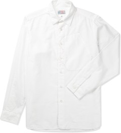 Garbstore White Map Pocket Shirt Picutre