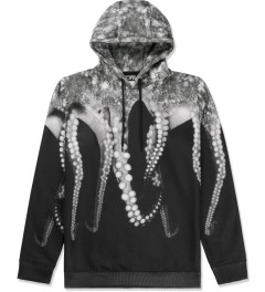 OCTOPUS Black Poly Hooded Sweater Picutre