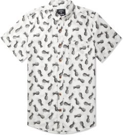 Grand Scheme White Pineapple S/S Shirt Picutre