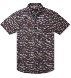 ZANEROBE Navy Camo Predator S/S Shirt Picutre