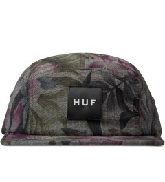 HUF Black Hawaiian Oxford Volley Cap Picutre