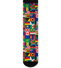 Odd Future Multi Wearld Flag Socks Picutre