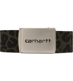 Carhartt WORK IN PROGRESS Panther Print Chrome Clip Belt Picutre