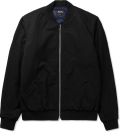 A.P.C. Black Croft II Jacket Picutre