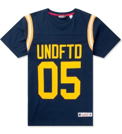 Undefeated Navy Gridiron T-Shirt Picutre