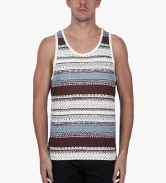 Stussy Wine Dot Tom Tank Top Model Picutre