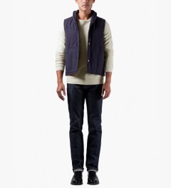 A.P.C. Ecru Colletage Sweater Model Picutre
