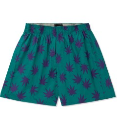 HUF Jade/Purple Plantlife Boxers Picutre