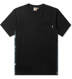 Carhartt WORK IN PROGRESS Black/Marble/Black S/S Glan T-Shirt Picutre