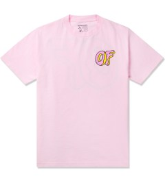 Odd Future Pink OF Donut T-Shirt Picutre