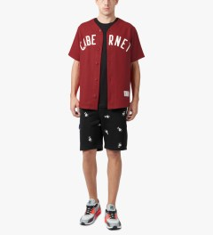 Acapulco Gold Black Angry Lo Bear Sweatshorts Model Picutre