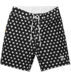 Stussy Black Scratch Dot 8.5 Trunk Picutre