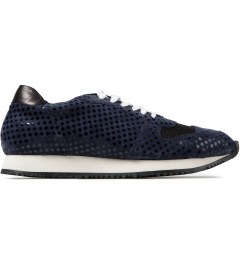 Opening Ceremony Navy Multi Checkered Arrow Sneaker Picutre