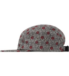 HUF Liberty x HUF Grey Achilles Volley Cap Model Picutre