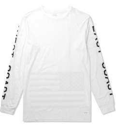 Stampd White Coastal Long Sleeve T-Shirt Picutre