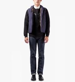 A.P.C. Noir Mister T Sweater Model Picutre