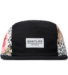 The Quiet Life Black Floral 5-Panel Cap Picutre