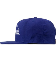 The Hundreds Blue Forever Team Snapback Cap Model Picutre