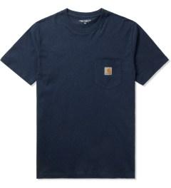 Carhartt WORK IN PROGRESS Jupiter Heather S/S Pocket T-Shirt Picutre