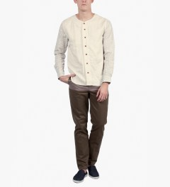 BWGH Beige Baseball Shirt Model Picutre