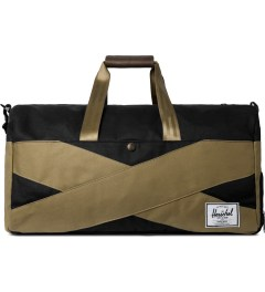 Herschel Supply Co. Black/Sand Lonsdale Duffle Bag Picutre
