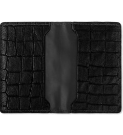 KRISVANASSCHE Black Credit Card Holder Model Picutre