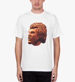Odd Future White Lionearl T-Shirt Model Picutre