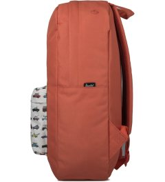Herschel Supply Co. Synchro Red/Rad Cars Heritage Backpack Model Picutre