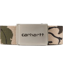 Carhartt WORK IN PROGRESS Camo Mitchell Chrome Clip Belt Picutre