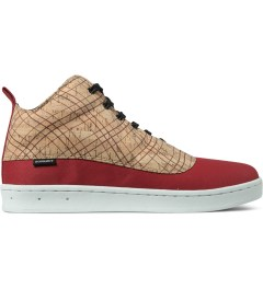 Gourmet Striped Cork/White Dieci 2 Cork LX Shoes Picutre