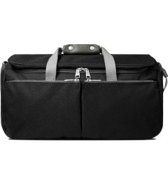 ULTRAOLIVE Black/Grey Pebble Duffle Bag Picutre