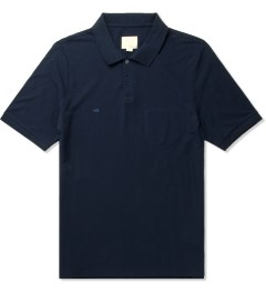 Band of Outsiders Midnight Blue SS Trap Pocket Polo Shirt Picutre