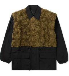 3.1 Phillip Lim Gold Tromp L'oeil Combo Panel Parka Jacket Picutre