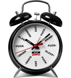 HUF Skate Metal x HUF Black Alarm Clock Picutre