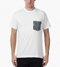 10.Deep White Tribes Pocket T-Shirt Model Picutre