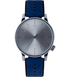 KOMONO Tonal Blues Winston Brogue Watch Picutre