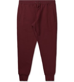 Jiberish Red Cozy Sweatpants Picutre