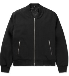 MKI BLACK Black Sweatshirt Bomber Jacket Picutre