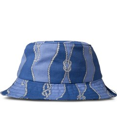 Raised by Wolves Blue Sailor's Knot Gatineau Bucket Hat Picutre