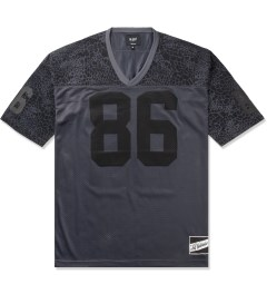HUF Black Shell Shock Football Jersey Picutre