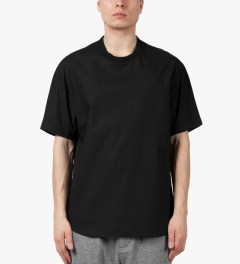 3.1 Phillip Lim Black S/S Dolman T-Shirt Model Picutre