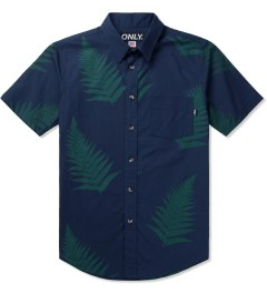 ONLY Navy Ferns S/S Shirt Picutre