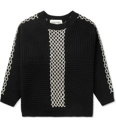 Henrik Vibskov Black Momo Knit Sweater Picutre