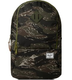Herschel Supply Co. Tiger Camo/Army Rubber Nelson Backpack Picutre